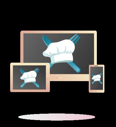 web development for food stalls